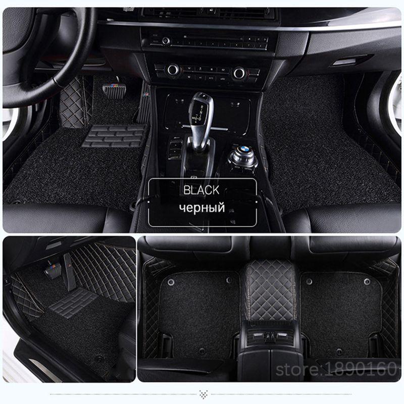 Personalizado esteras del piso del coche para Todos Los Modelos Toyota Corolla Camry Rav4 Prius Auris Avensis Yalis 2014 accesorios de automóviles de estilo piso estera