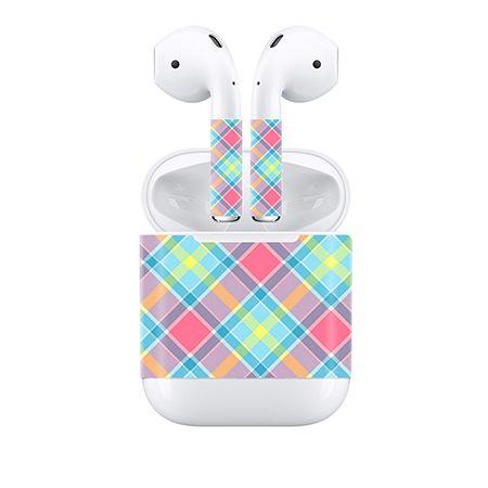 Freier tropfen-verschiffen Bunte haut für Apple Airpods haut aufkleber abziehbild deckel # TN-APOD-0039