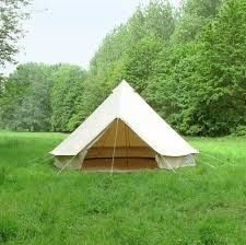 cotton canvas tent bell tent family tent 5m Dia