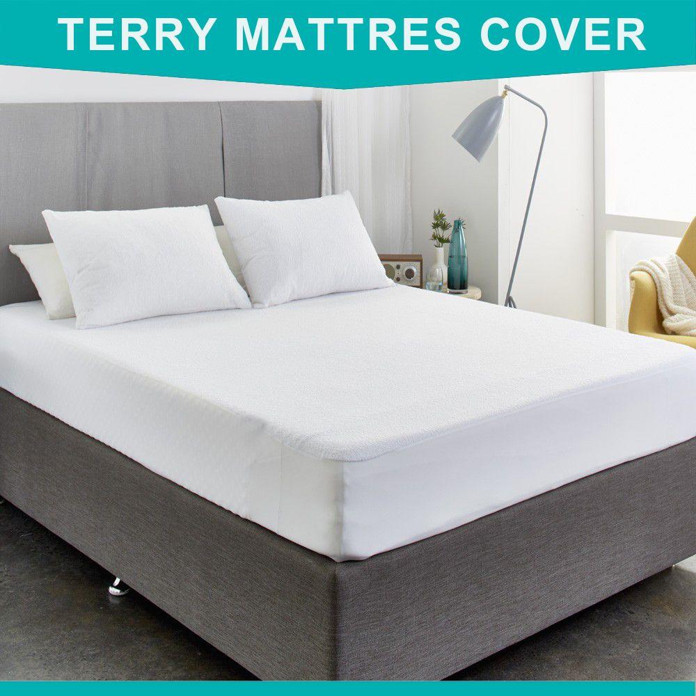 160X200 cm coton éponge matelas protecteur hypoallergénique matelas couverture imperméable respirant matelas pour punaise de lit