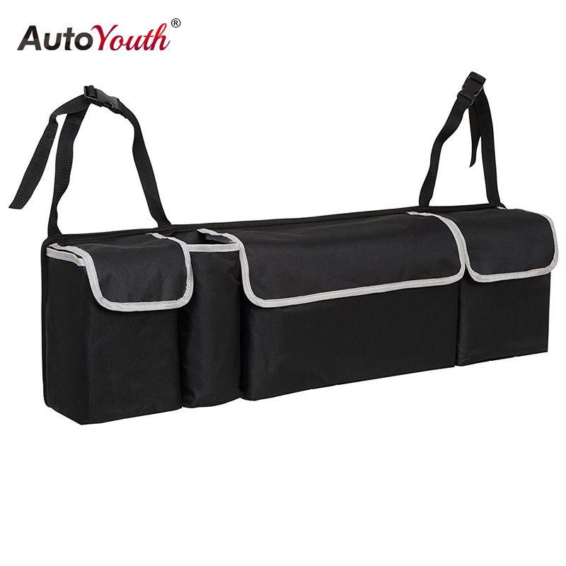 Багажник автомобиля, организатор сиденье сумка для хранения Высокая емкость Multi-использовать ткань Оксфорд заднем сиденье автомобиля орга...
