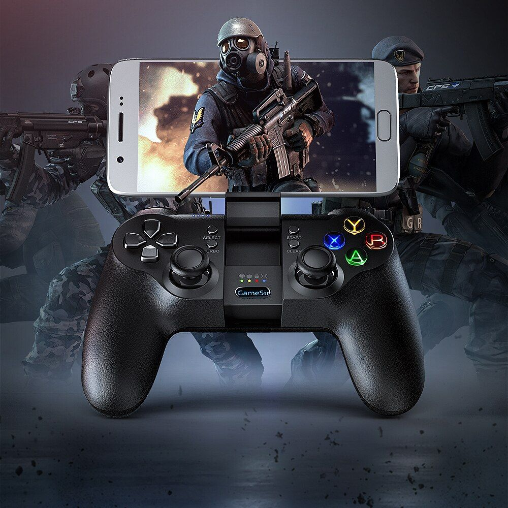 GameSir T1s Bluetooth Wireless Gaming Controller Gamepad for Android/<font><b>Windows</b></font>/VR/TV Box/PS3