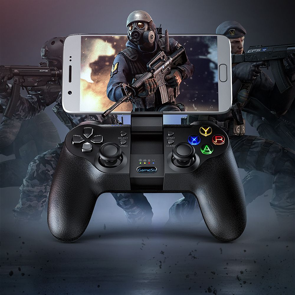 GameSir T1s Bluetooth Wireless Gaming <font><b>Controller</b></font> Gamepad for Android/Windows/VR/TV Box/PS3