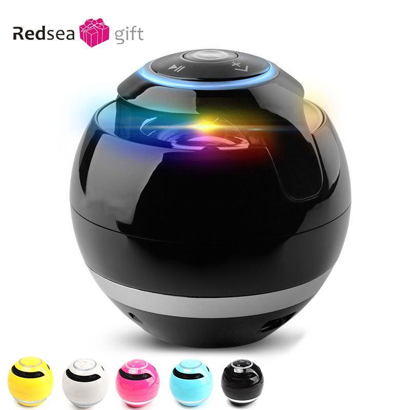 Portable Bluetooth Haut-Parleur LED MINI Bluetooth Sans Fil Stéréo Musique Haut-Parleur Basse AUX TF FM Lourd Sound Box Haut-parleurs