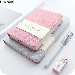 Notebook A5 A6 diario personal de la Oficina original/planificador de la semana/programa moda colorido horizontal en blanco Bloc de notas escuela papelería