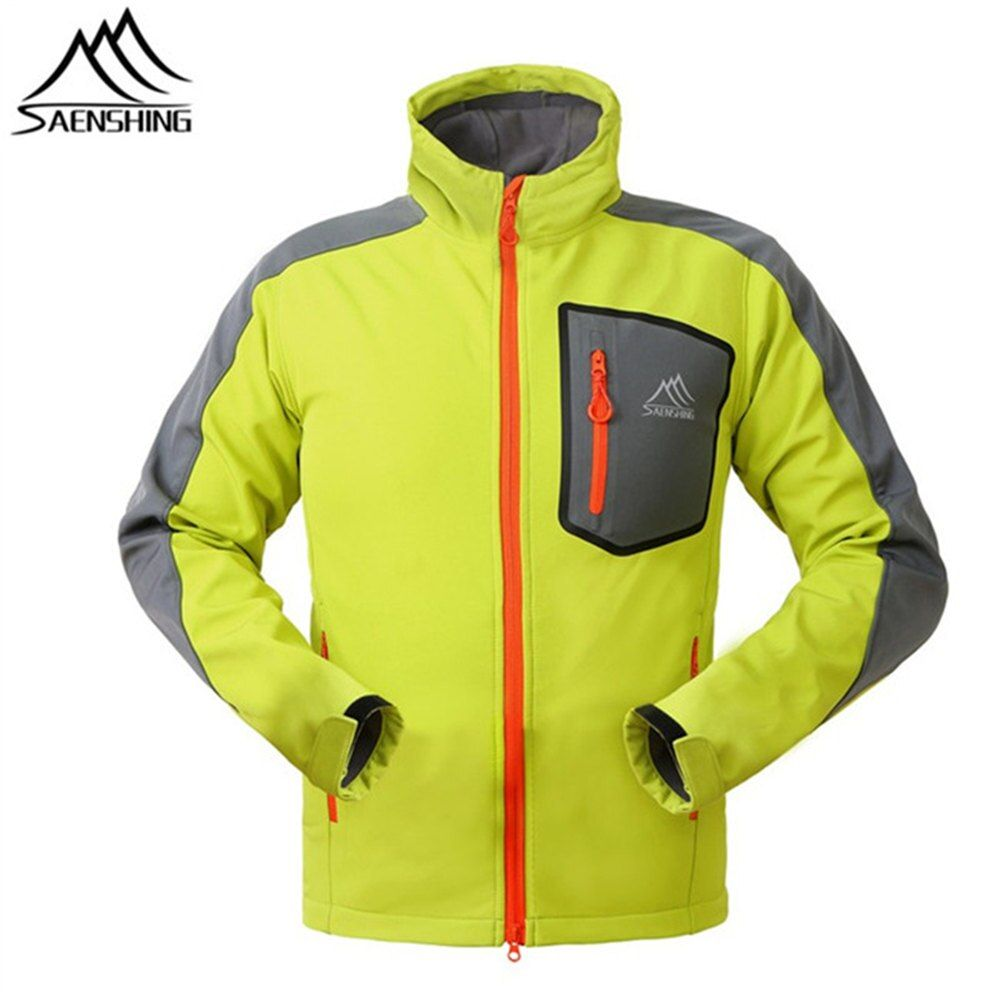 SAENSHING Outdoor Softshell Jacke Männer Jagd Kleidung Winddicht Jacke Chaquetas Camping Wandern Klettern Sport Windstopper