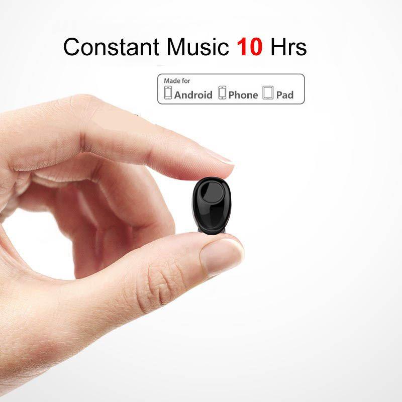 NVAHVA 10 heures de temps de musique Bluetooth écouteurs sans fil mi ni casque pour iPhone Xiao mi Android téléphones portables TV PC voiture conduite