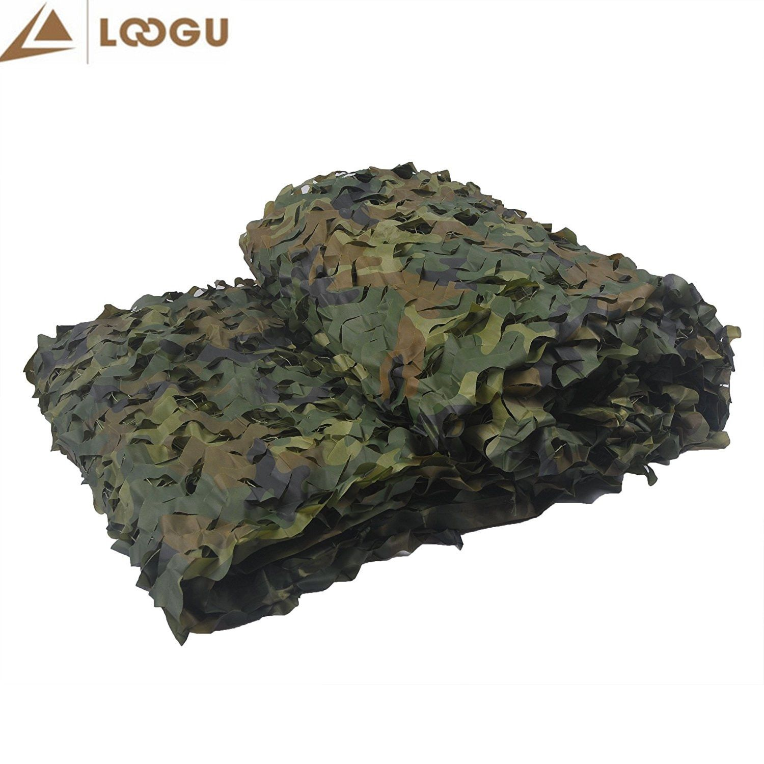 3M*6M Military Camouflage Net Sun Shelter 150D Polyester Oxford Camouflage Net Sun Shelter for Hunting Camping Tourist Sun Tents