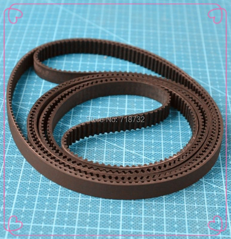 387-GT3-9 round timing bel 387mm length GT3 9mm width 5pcs free shipping
