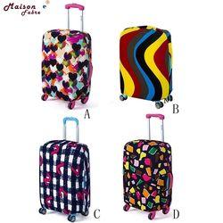 حقيبة الأمتعة غطاء 18-20 بوصة مرونة محبوكة الغبار السفر حقيبة حافظة لحقيبة السفر 0301 انخفاض الشحن