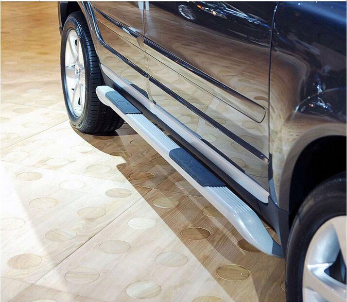 NEUE Auto Aluminium legierung Trittbrett Seite Schritt Nerf Bar Pedal Für Volvo XC90 2002-2015 SCHNELLE Versand