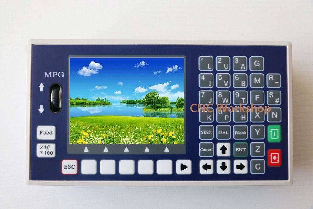 4 achsen CNC controller USB Stick G code Spindel Bedienfeld MPG Stand Alone drehmaschine fräsmaschine controller