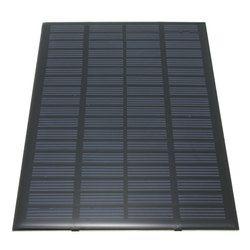 Leory Лидер продаж 18 В 2.5 Вт поликристаллического потенциальная энергия Мощность Панели солнечные модуль Системы солнечных батарей Зарядное ...
