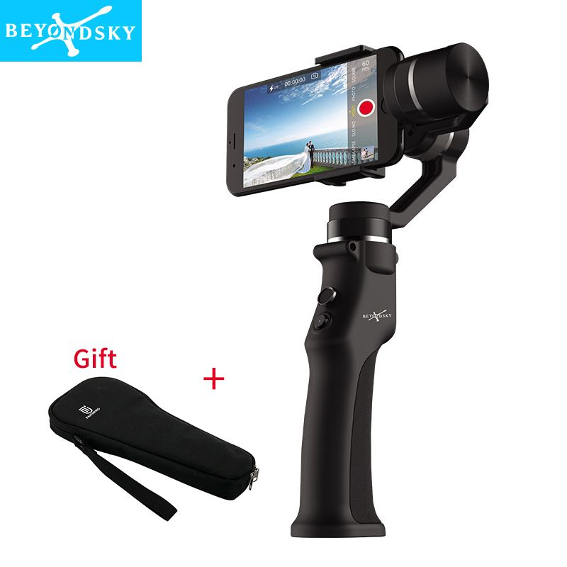 Beyondsky Eyemind Smartphone Handheld Gimbal 3-Axis Stabilizer for iPhone 8 X Xiaomi Samsung Action Camera VS Zhiyun Smooth Q