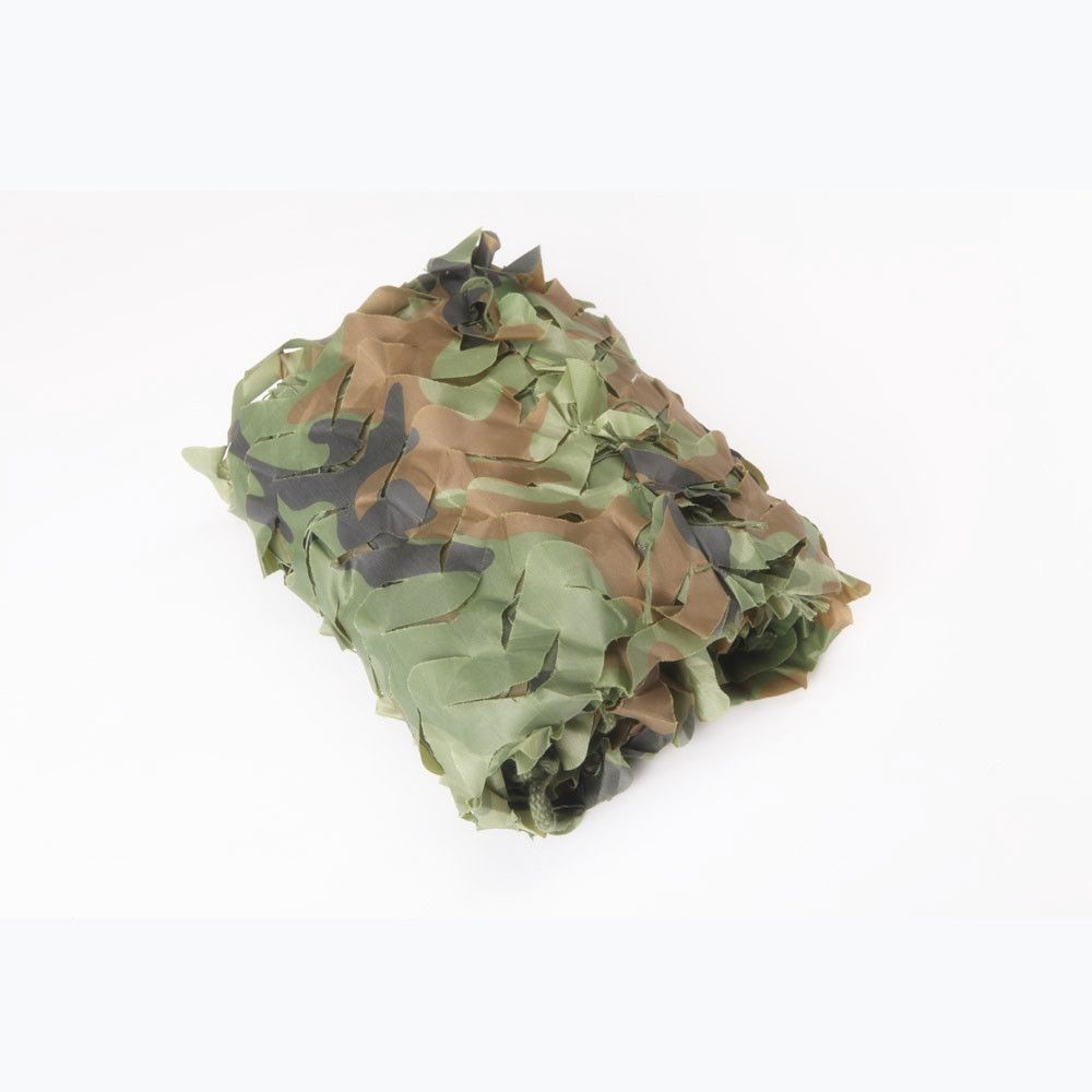 3x3m Car covering tent Woodland Camouflage Netting Hunting Camo Netting with edge binding and mesh net