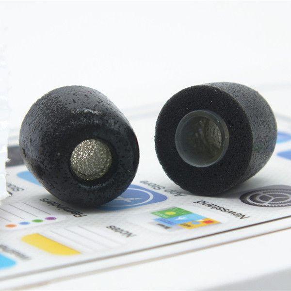 2 pcs D'origine mousse conseils TX400 pour dans l'oreille écouteurs casque casque isolation phonique amélioré basse Lent rebond éponge