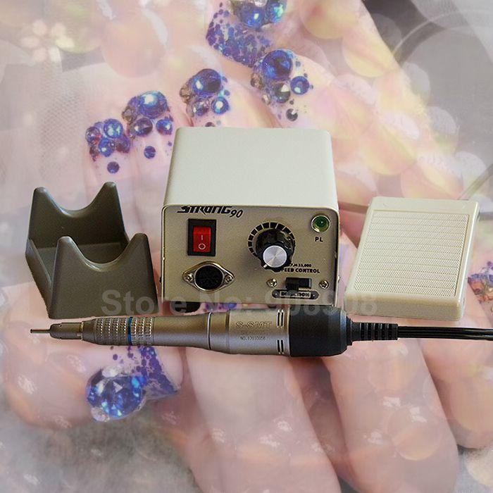 35000 tr/min droite Nosecones DC 30 V E102S e-type moteur fort 90 micromoteur de fer pour laboratoire dentaire perceuse à ongles lime manucure pédicure