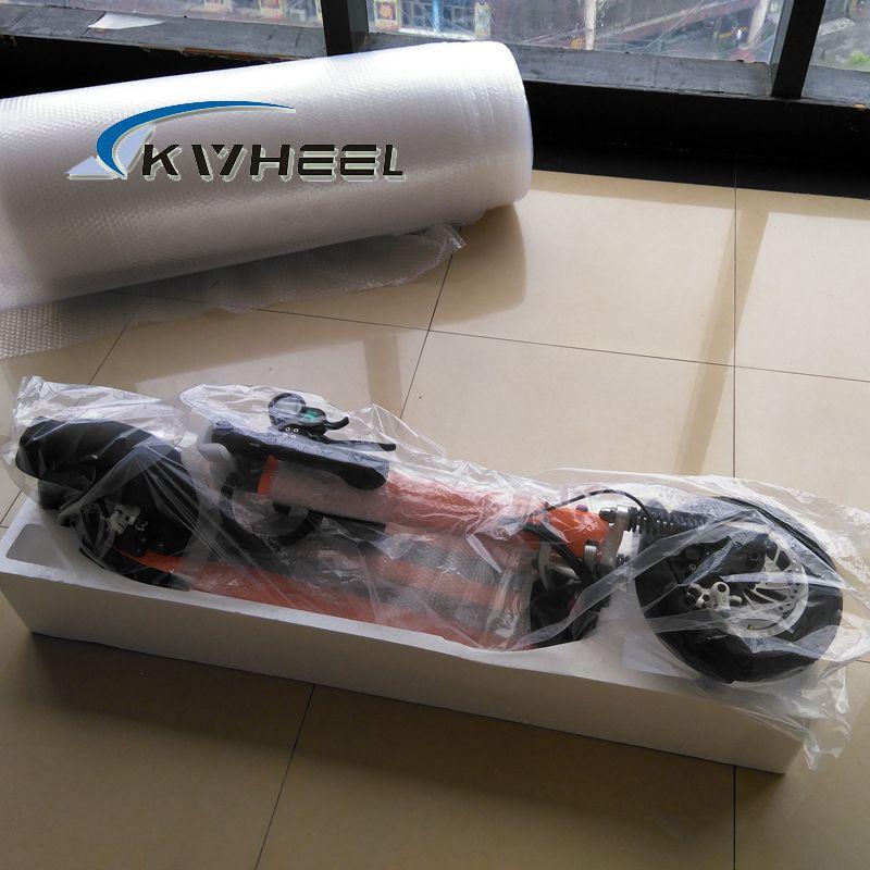 2016 500 Watt Leistungsstarke Bunte Zwei Rad Mini Faltbare Elektroroller 48 V 13A Lithium E-Bike mit front vordere stoßdämpfer