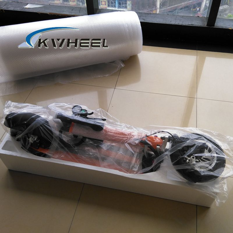 2016 500 W Leistungsstarke Bunte Zwei Rad Mini Faltbare Elektrische Roller 48 V 13A Lithium-E-Bike mit front front shock absorber