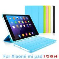 Ультратонкий чехол Для Сяо mi pad 1 A0101 7,9 mi pad 1 2 3 4 планшет Smart крышка с автоматическим сна проснуться функциональный корпус стилус