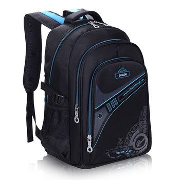 Children School Bags For Boys Thickened back Backpack Protect the spine Large capacity Waterproof Kids schoolbags mochila 2 size