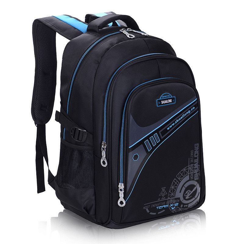Children School Bags For Boys Thickened back Backpack <font><b>Protect</b></font> the spine Large capacity Waterproof Kids schoolbags mochila 2 size