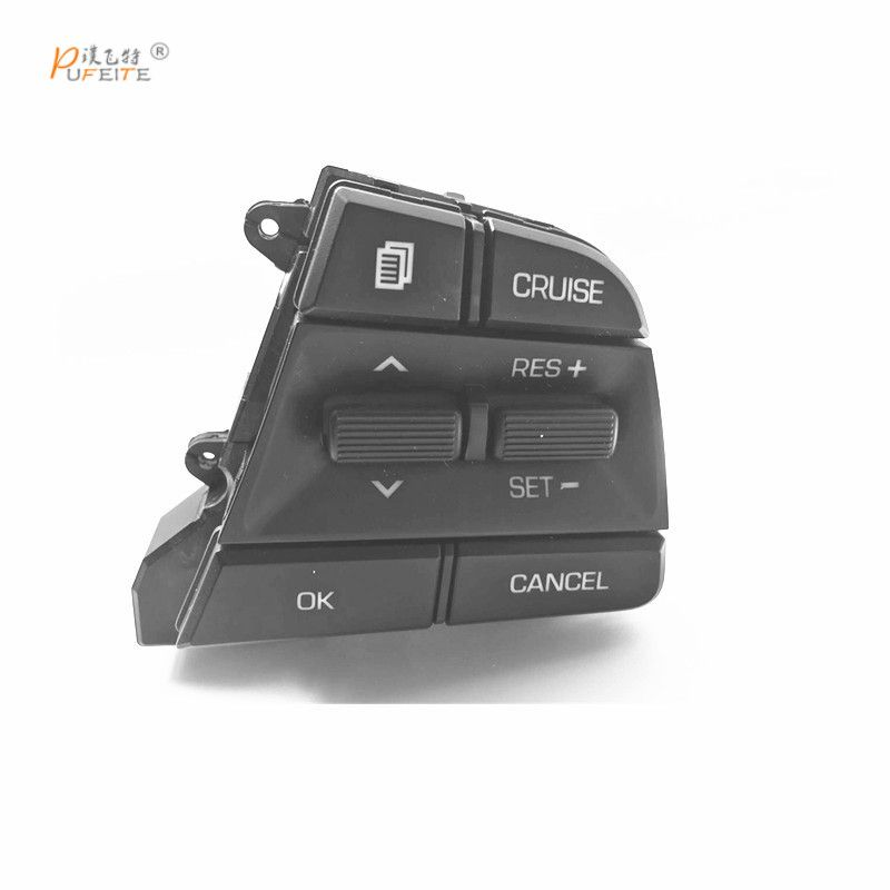 For Hyundai Movable Collar Solaris 2016 2017 1.6l Multi-function Steering Wheel Buttons Cruise Control Button Switches