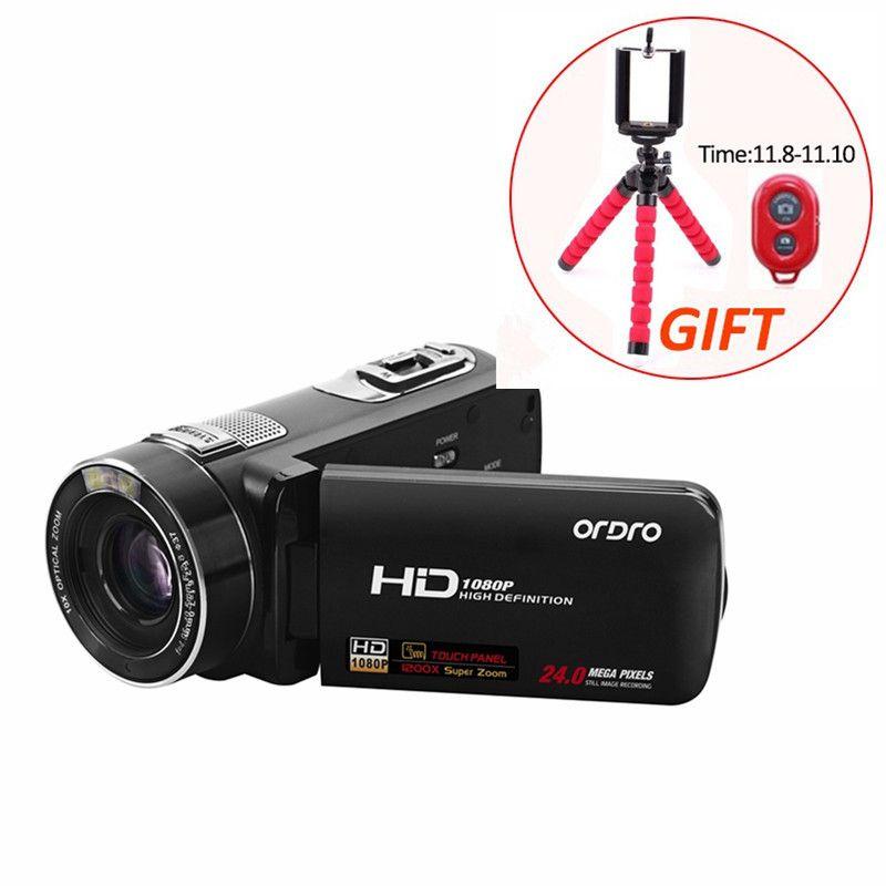 HD 24MP CMOS цифровой Камера 30fps 10X Оптический зум 3.0