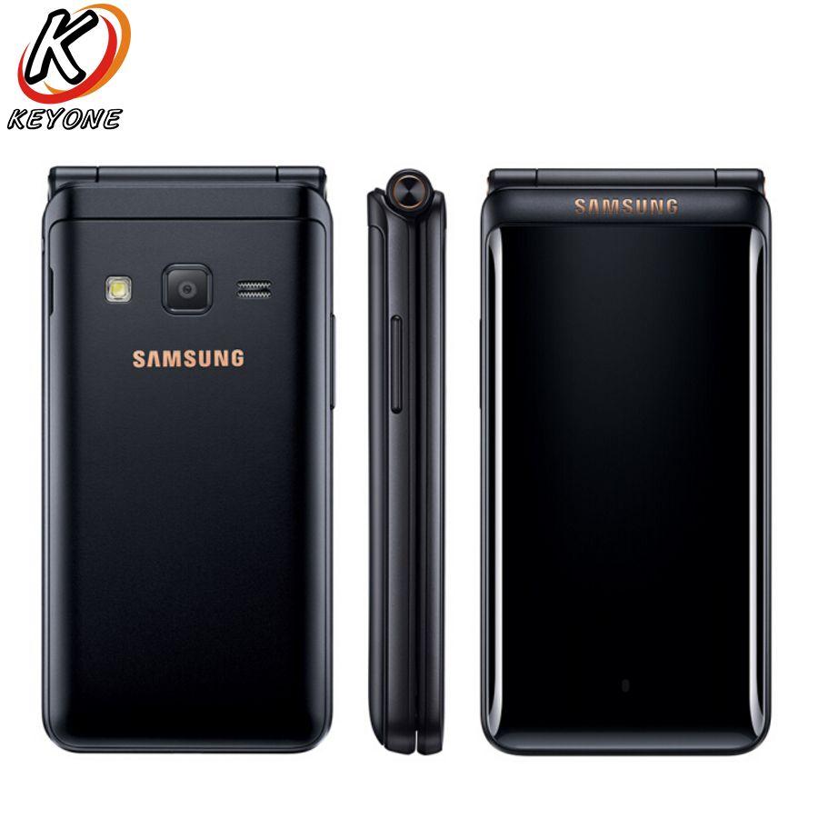 Marke Neue Original Samsung Galaxy Ordner 2 G1650 LTE Handy 3,8