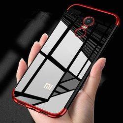 Lujo a prueba de golpes de la caja del teléfono galjanoplastia para Xiaomi redmi 4 Nota 4X 5A 5 TPU Slim transparente teléfono cubierta para redmi 5 plus Capa