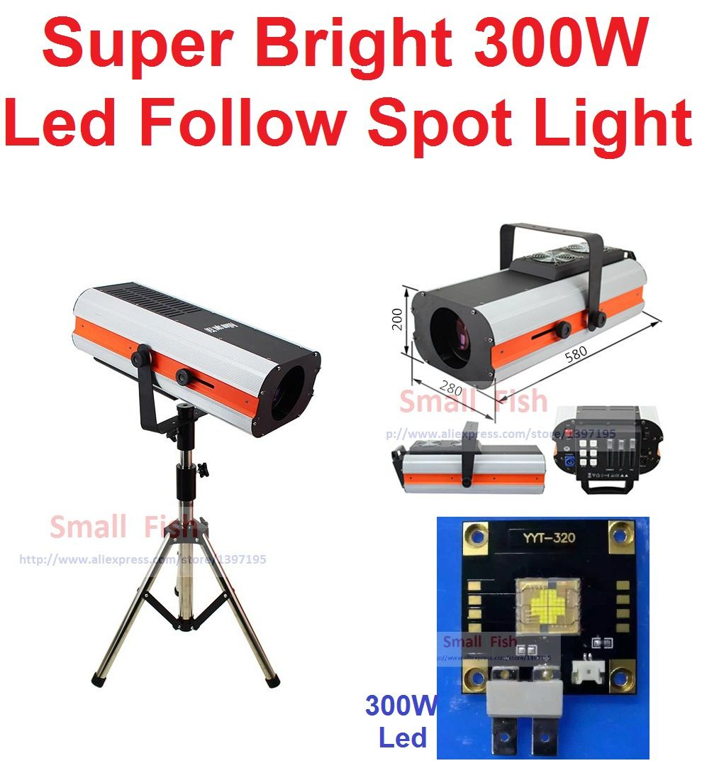 300W Fresnel COB LED LEKOS Ellipsoidal Gobo Projector Follow Spot Focus Profile Theater Decoration Renew 2500W Hologen Lighting