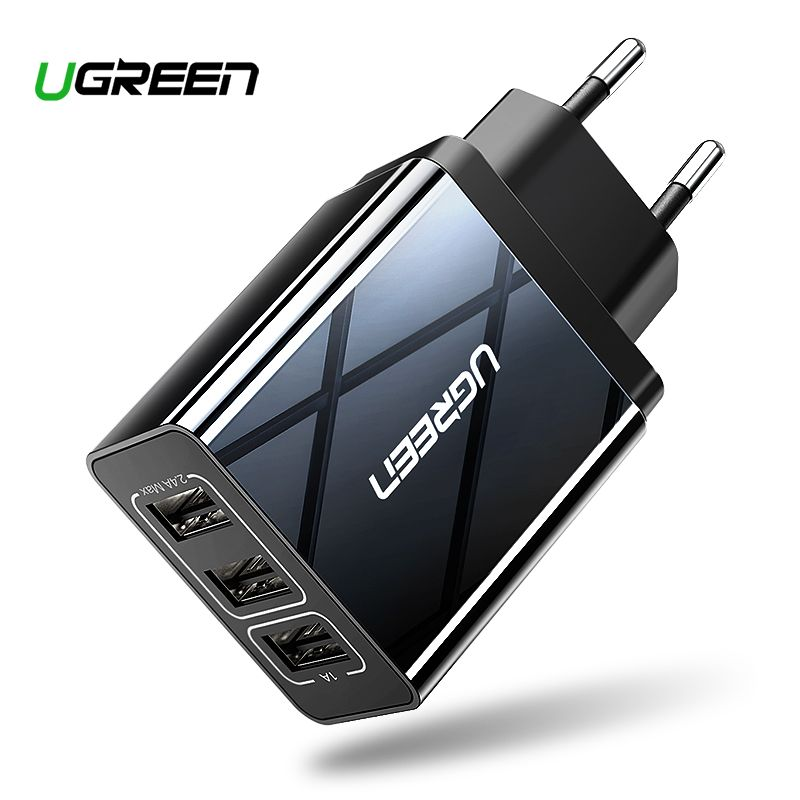Ugreen USB Charger for iPhone Xs X 8 7 Fast Phone Charger for Samsung Xiaomi Huawei Wall Charger EU Adapter Mobile Phone Charger