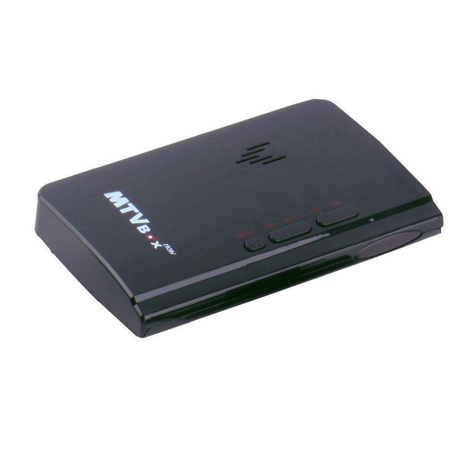Neue 200 MHz Externe LCD CRT VGA Externe TV Tuner PC TV BOX Receiver Tuner HD 1080 P Lautsprecher VGA Fall TV Box Mit Fernbedienung