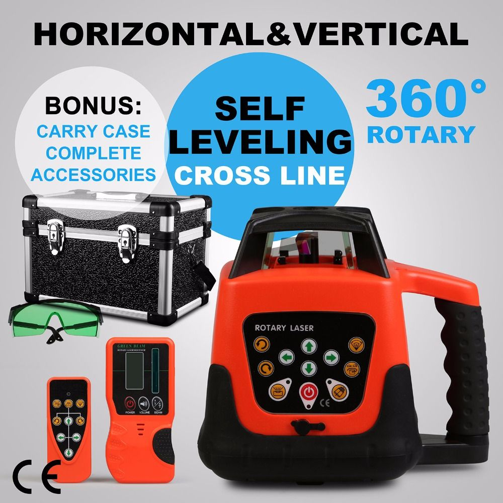 New Automatic Electronic Self-Leveling Rotary Rotating Green Laser Level 500M