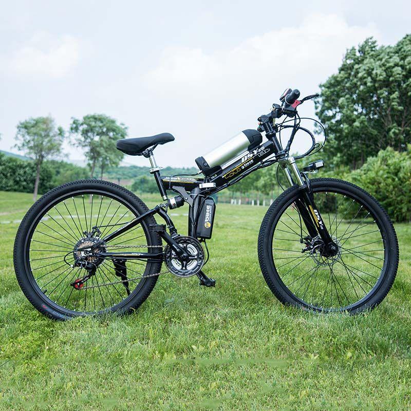 26 zoll Elektro-fahrrad 36 V 10.8ah Lithium-Batterie Elektrische Mountainbike 350 Watt Motor Faltbare EBike leistungsstarke Elektro-bike