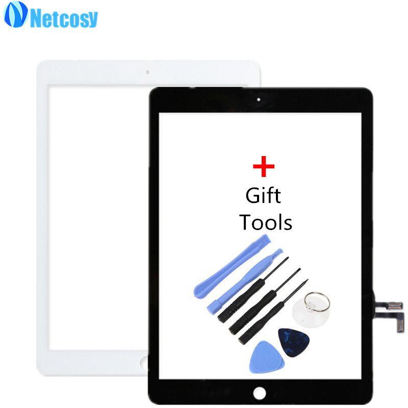 Netcosy Écran Tactile Digitizer Avant Écran Tactile Lentille En Verre pour iPad Air/5 TP Écran Tactile Remplacement Pièces De Rechange + Outils de réparation