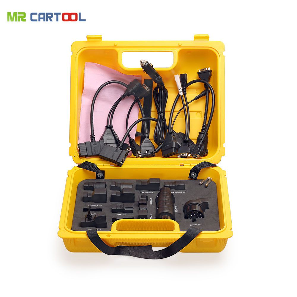 Original Launch X431 Yellow Box for Diagun IV/5C/ iDiag Connector Set Package Free Shipping