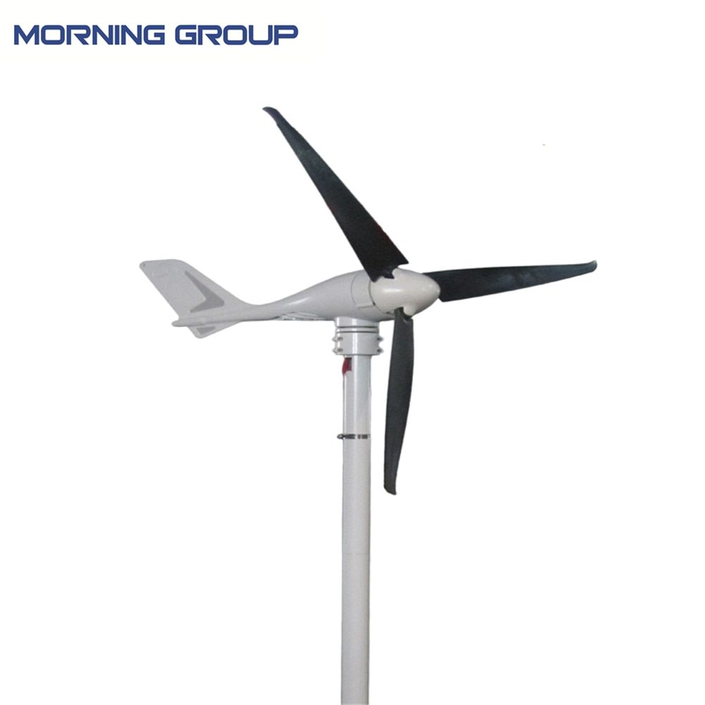 S-700 Marine Type Aluminum Die-Casting Wind Generator Windmill With 3 CFRP Blades And External Type On-Grid Controller