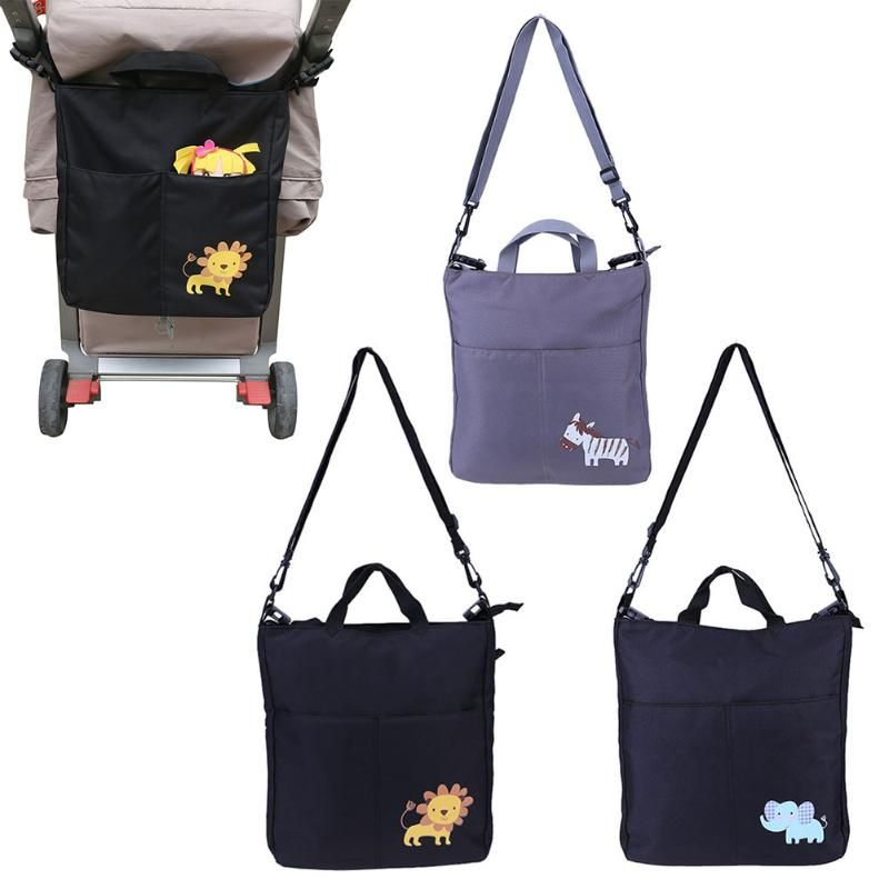 Baby Stroller Organizer Large Accessories Big Capacity Cartoon Waterproof Baby <font><b>Carriage</b></font> Bag For Prams Stroller Accessorie&Props