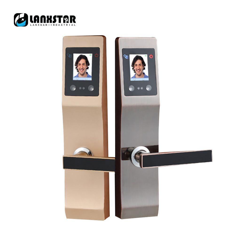 LANXSTAR Gesichtserkennung Palme Druckt Intelligente Sperre Wohnung Hause Anti-diebstahl-sicherheits-tür Elektronische Passwort Smart Lock