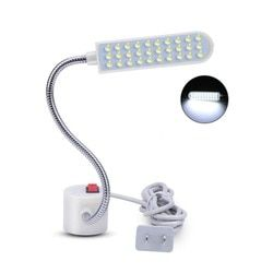 2019 Портативный швейная машина светодиодный свет 2 W 30 светодиодный Магнитный монтажное основание лампа на гибкой ножке для всех швейных осв...