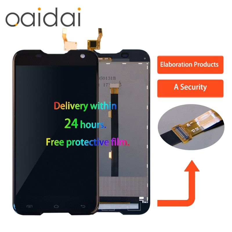 Original LCD Display For Blackview BV5000 Touch Screen Digitizer Sensor Glass For Blackview BV500 LCD Display Assembly