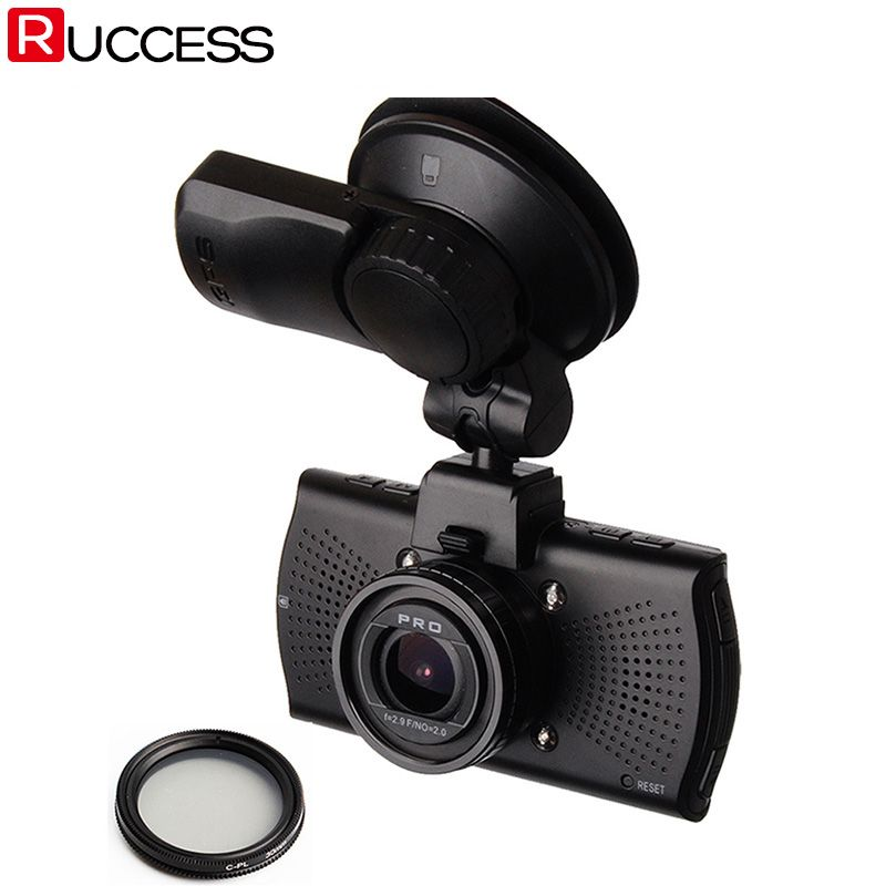 Car DVR Camera DVRs A7810G Pro Ambarella A7LA70 A7 <font><b>1296P</b></font> Night Vision Camcorder LDWS Video Recorder With GPS Tracker Speedcam