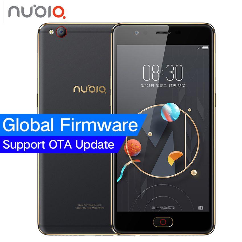 D'origine ZTE Nubia M2 LITE 4G LTE MT6750 Octa base Android M 5.5 3G RAM 64 GB ROM 16.0MP 3000 mAh Batterie D'empreintes Digitales Smartphone