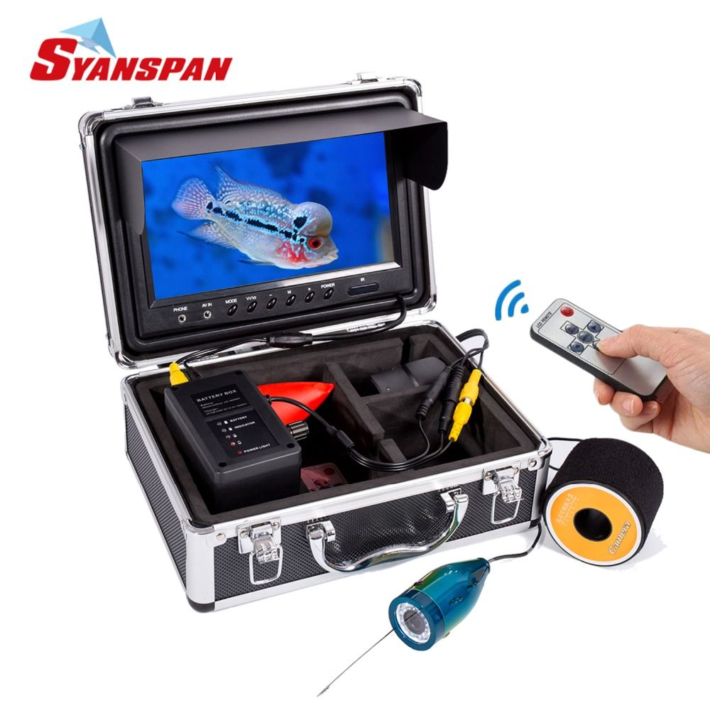 SYANSPAN Fish Finder Portable Underwater Fishing Video Camera 9