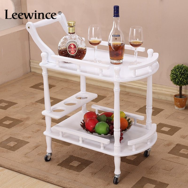 Leewince Hotel Trolley Coffee Tables Storage Holders Multipurpose Shelf Display Rack Corner Products Furniture Console Tables