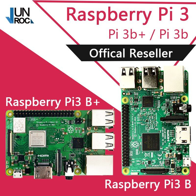 Original Element14 Raspberry Pi 3 Model B/B+ Plus BCM2837 1.2G raspberry pi 3 with 2.4G & 5G WIFI 4.2 Bluetooth and PoE