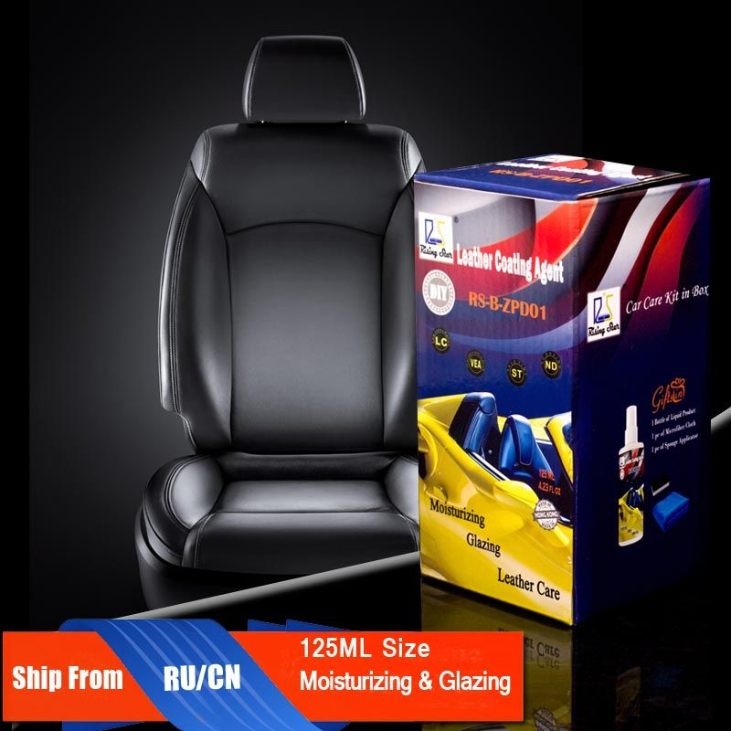 Rising Star RS-B-ZPD01 Leather Moisturizing Liquid Repair and <font><b>Care</b></font> Seat Upholstery Leather Coating Agent 125 Kit for DIY Users