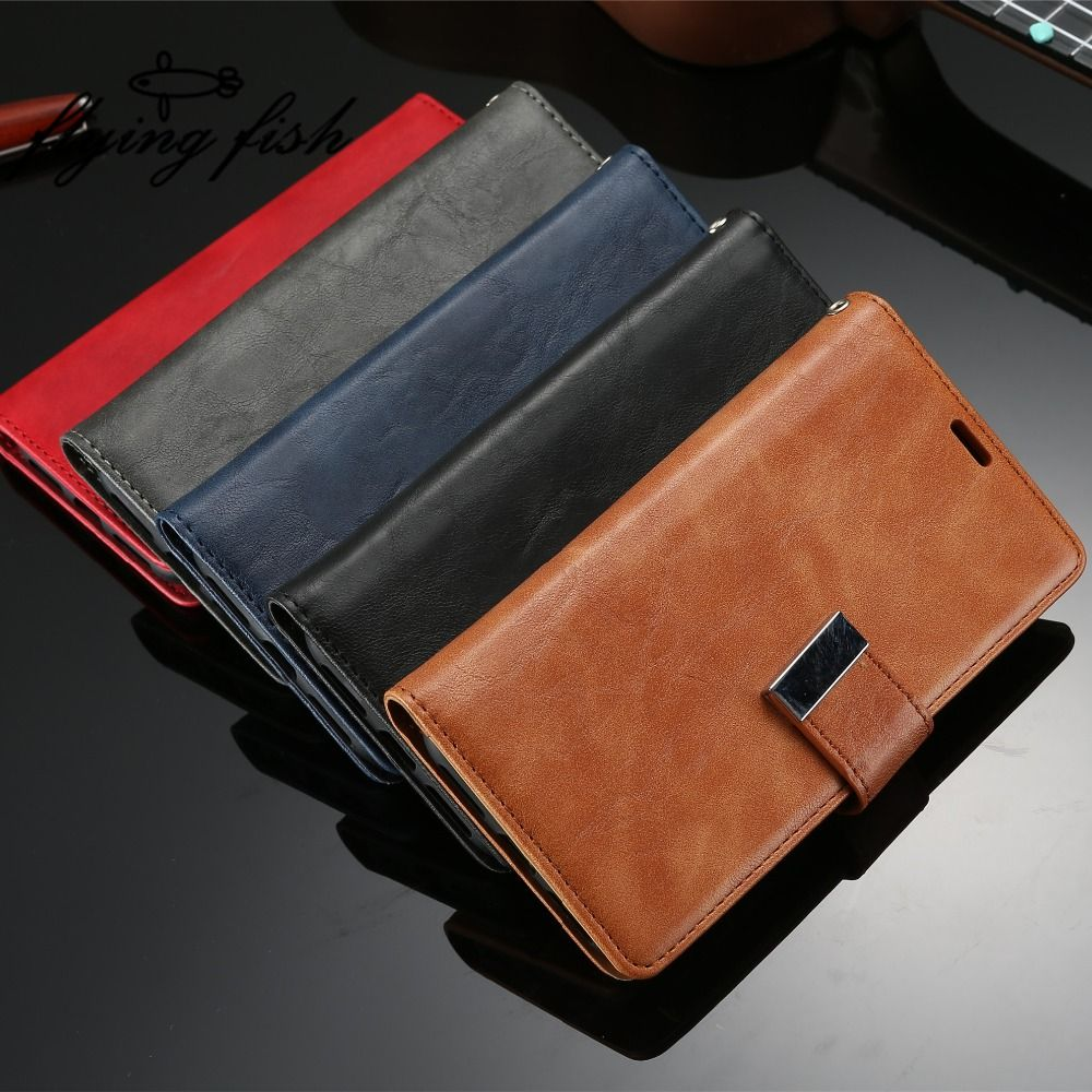 S8 Plus Phone Cases For Samsung Galaxy S8Plus G950 G955 Case Flip Leather Wallet Lanyard Multifunction Cover Coque Telefoon Hoes