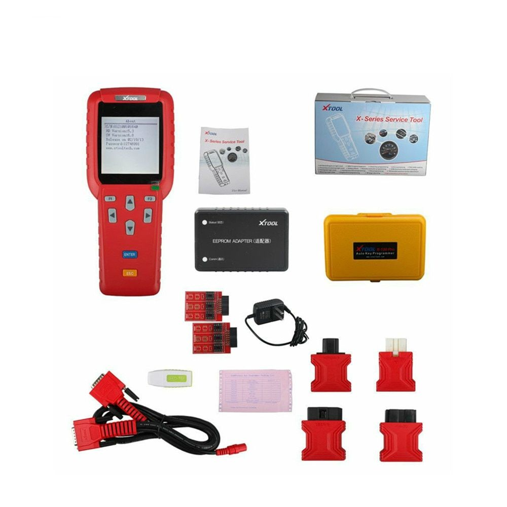 [XTOOL Distributor] Xtool X100 PRO Auto Key Programmer X100+ Updated Version with EEPROM Adapter FAST SHIPPING
